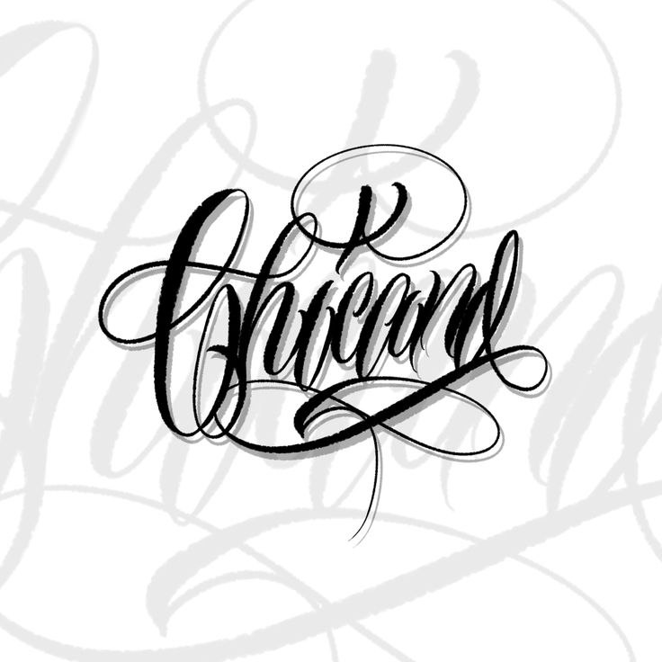 Lettering tattoo brush for procreate tattoo lettering