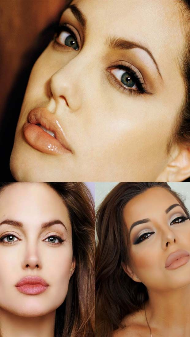 How To Get Angelina Jolie Cat Eyes Cat Eye Tutorial Halloween