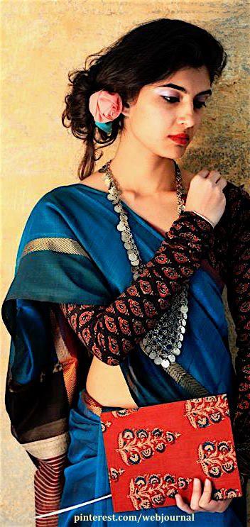 Chanderi saree from Gaatha. Gaatha.com