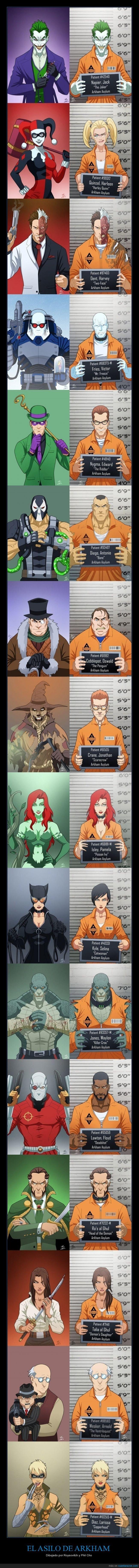 1002839 - Los pacientes de Gotham  reunidos