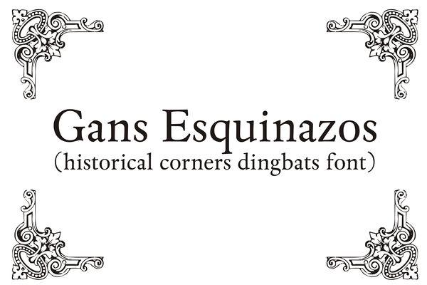 Gans Esquinazos by Intellecta Design on Creative Market