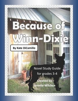Because of winn dixie study guide