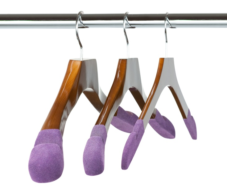 3 Luxury Wooden Hangers available for Women in the Runway Collection at The Hanger Project.   -Suit & Jacket Hanger  -Blouse, Dress, & Sweater Hanger  -Skirt, Shirt, & Trouser Hanger