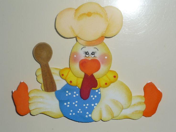 Adornos en foami para decorar la cocina - Imagui