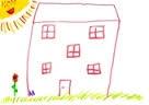 In my house the sun always shine Simon, 6 years
