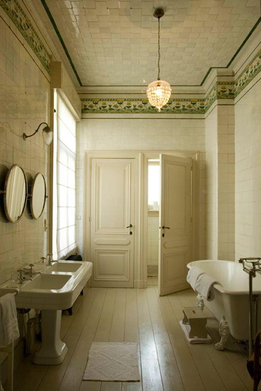 152 best Vintage Bathrooms images on Pinterest Room Dream
