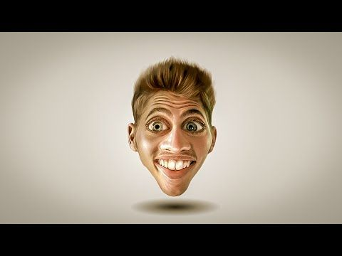 Photoshop Tutorial | How to Make Caricature from a Photo - YouTube