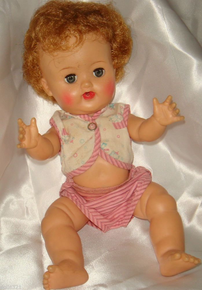Betsy Wetsy Doll In Original Outfit Vintage 1950s Ideal
