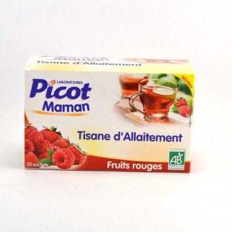 Tisane d'allaitement fruits rouges - 20 sachets