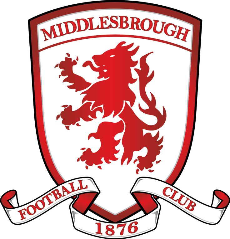Image result for middlesbrough fc logo