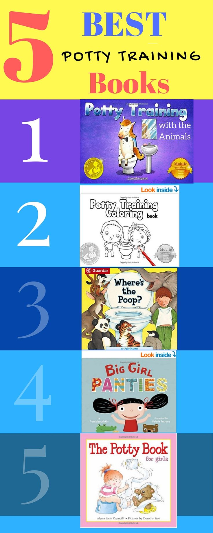 Top  Potty Training Books Those Of You Who Arent Currently Potty Training A Child Might Not Look Upon This List With The Same Glee As The Parents Of A
