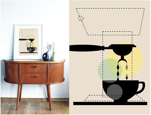 "A3 poster - ""Espresso"""