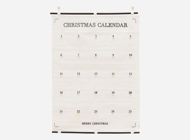 Ls0510 - Kalender, 25 days till Christmas, 75x100 cm