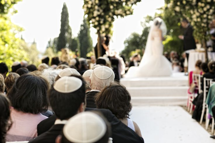 A detail of the beautiful Jewish ceremony