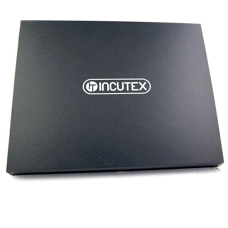 Incutex Premium Keramikmesser-Set 6-teilig – Küchenmesser Ceramic-Klinge Schälmesser Gemüsemesser Universalmesser Santokumesser Kochmesser Küchenmesser