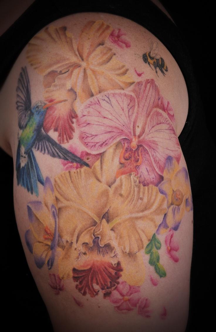 Hummingbird And Honeysuckle Tattoo Cf7fccbf6e267efa90c00b241a5ac ...