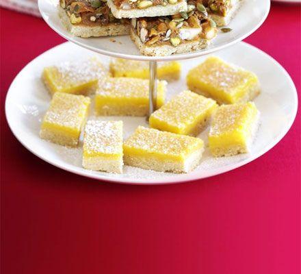 Lemon bars. These slices of zesty lemony goodness are hard to resist