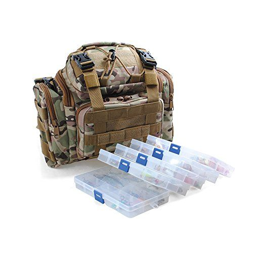 Dr.Fish Fishing Tackle Bag with 5 Boxes Loaded 60 Fishing Lures Crankbaits Spinners Roostertail Soft Plastic Shad Swimbiats Mutiple Bag Colors http://fishingrodsreelsandgear.com/product/dr-fish-fishing-tackle-bag-with-5-boxes-loaded-60-fishing-lures-crankbaits-spinners-roostertail-soft-plastic-shad-swimbiats-mutiple-bag-colors/