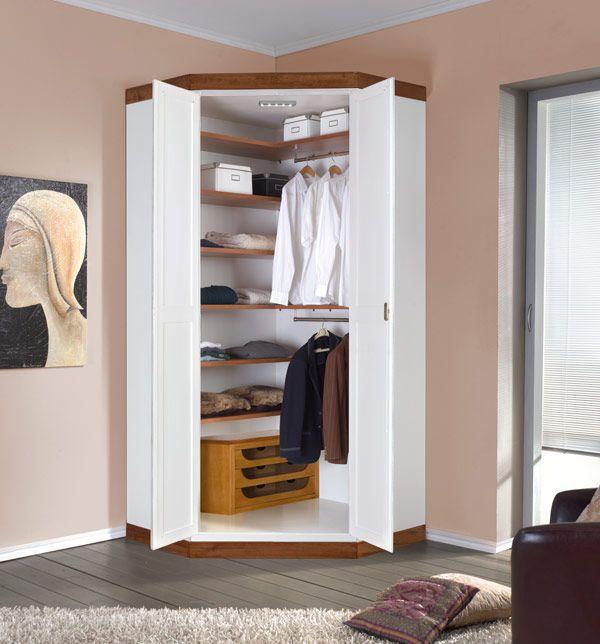 Best 25 corner wardrobe ideas on pinterest corner wardrobe closet corner closet and ikea pax - Corner wardrobe design ...