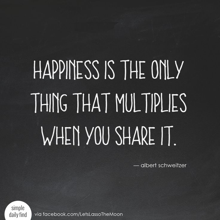 Happiness is the only thing that multiplies when you share it. - Albert Schweitzer #quote #sponsored #wordsofgratitude *Love this quote and family gratitude project. Perfect for older kids! We are so doing this for Thanksgiving.