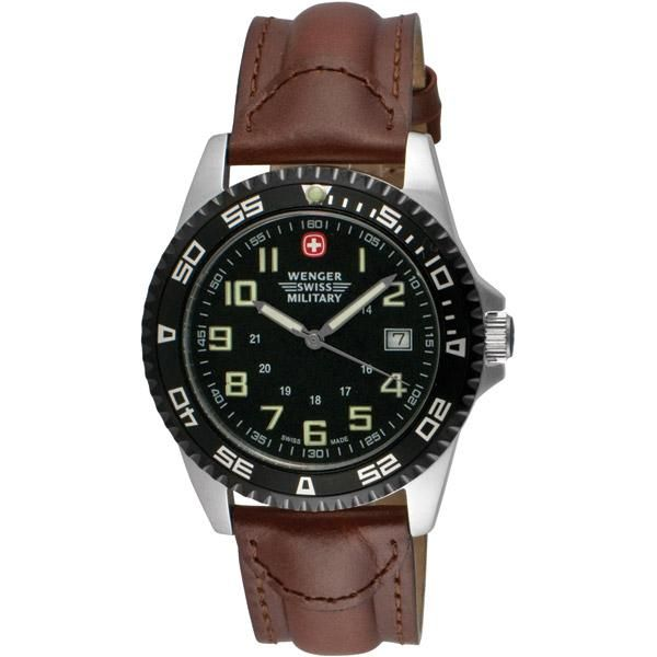 Wenger Swiss Military Classic Field Men's Watch 72925 http://ivans-electronics.com/wenger-swiss-military-outback-watch-72935.php