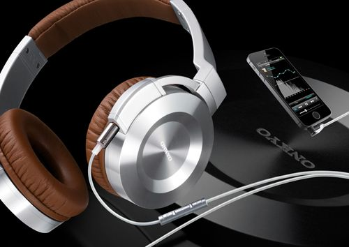 Onkyo's iOS-compatible headphones work with high-res audio app