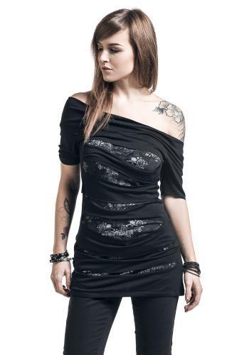 Rose Skull - T-Shirt von Black Premium by EMP