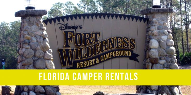 Camping/glamping at Disney is different than doing it anywhere else and made super easy by companies like Florida Camper Rental.
