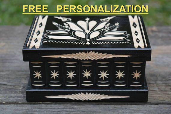 Personalized puzzle box jewelry box home decoration decor