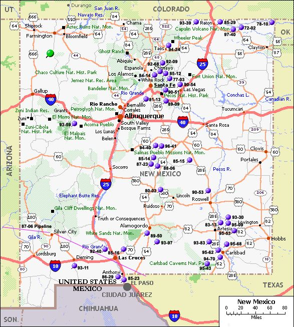 Deming New Mexico Map Cities Map Of New Mexico Population - New mexico map with cities