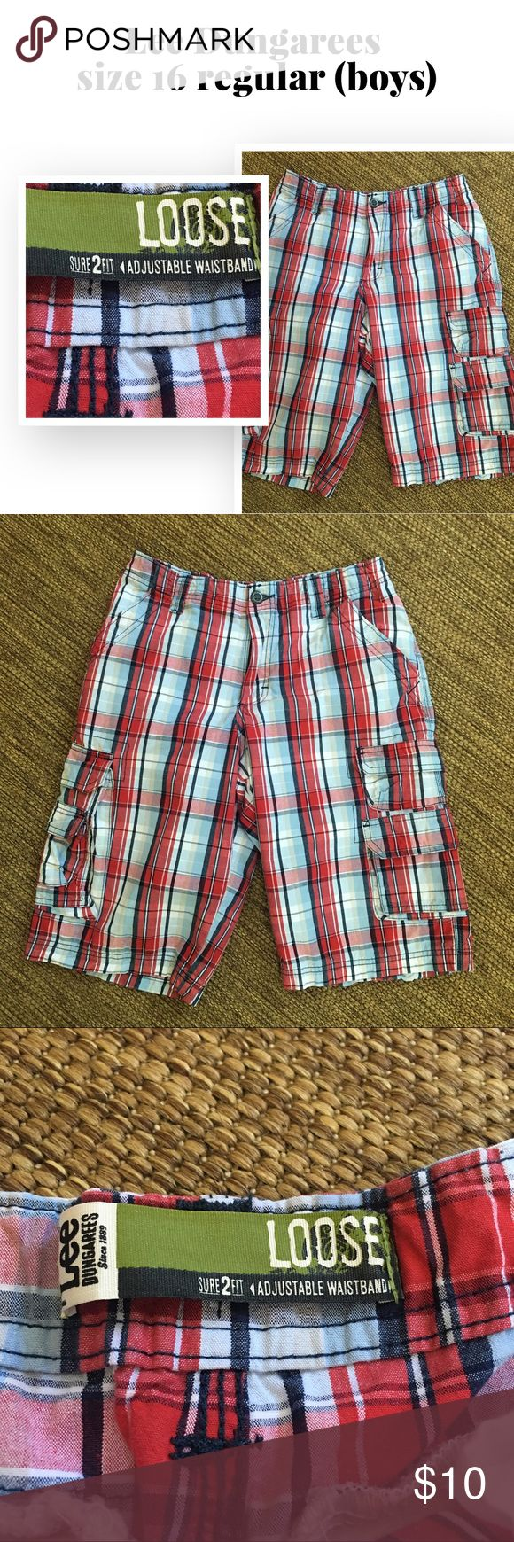 Lee Dungaree Boys Cargo Shorts Great looking cargo shorts size 16 regular. Lee Dungaree Bottoms Shorts