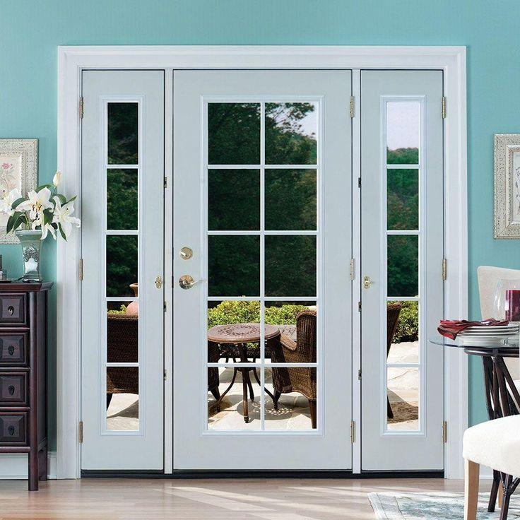 Single Patio Door With Sidelites