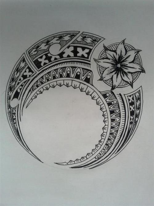 hawaiian tribal drawing - Google Search
