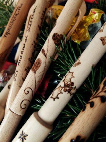 Fa írószerek, ajándékok