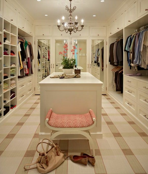 Begehbarer kleiderschrank luxus  Der Begehbare Kleiderschrank Ein Traum Vieler Frauen Begehbarer ...