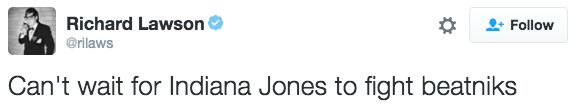Like this one, considering the movie will probably be set in the 1960s. | People Are Already Cracking Jokes About The New Indiana Jones Movie
