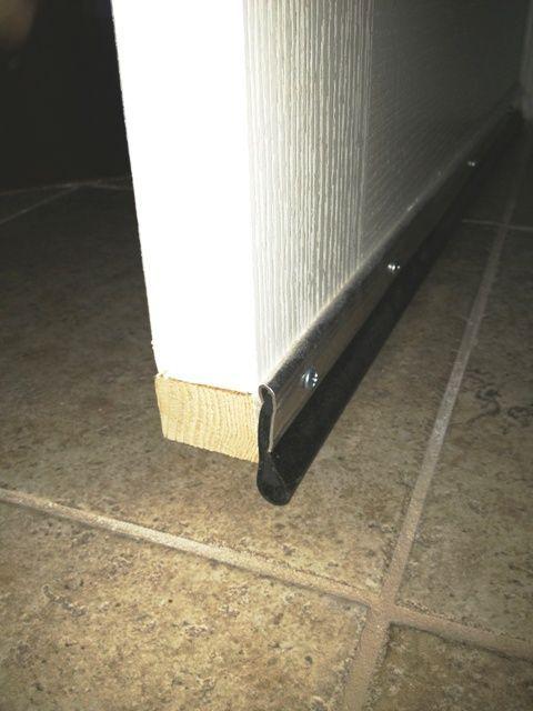 Best ideas about door sweep on pinterest insulation