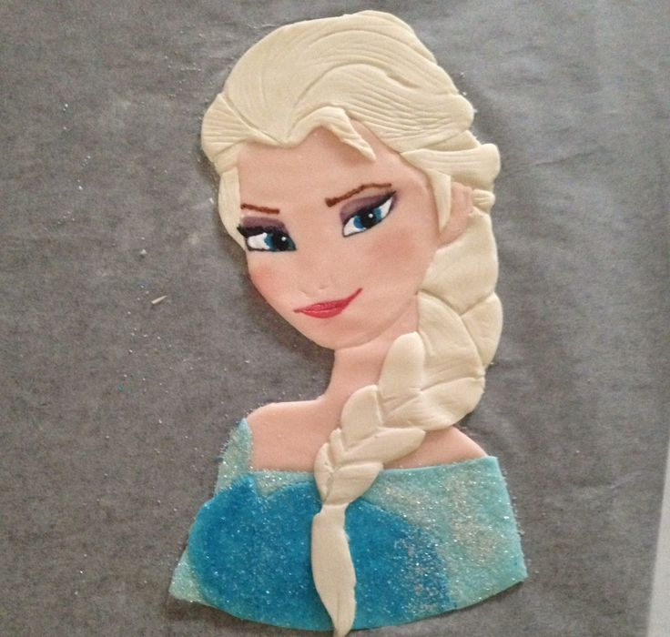 Torta Frozen Elsa