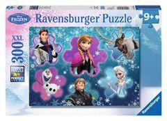 Ravensburger Frozen De ijskoningin 300  Ontsnap uit de realiteit en stap in de wereld van Ravensburger-puzzels. Tijdens het puzzelen ontdekken kinderen hun grootse vaardigheden. XXL-puzzels voor XXL-puzzelplezier. De XXL-grote puzzelstukken zijn eenvoudiger te leggen. Het resultaat is een kunstwerk op posterformaat dat in geen enkele kinderkamer misstaat. Dankzij de met de hand gemaakte stansmessen is de vormvariatie van de stukjes oneindig. Kinderen vanaf 9 jaar zullen genieten van de…