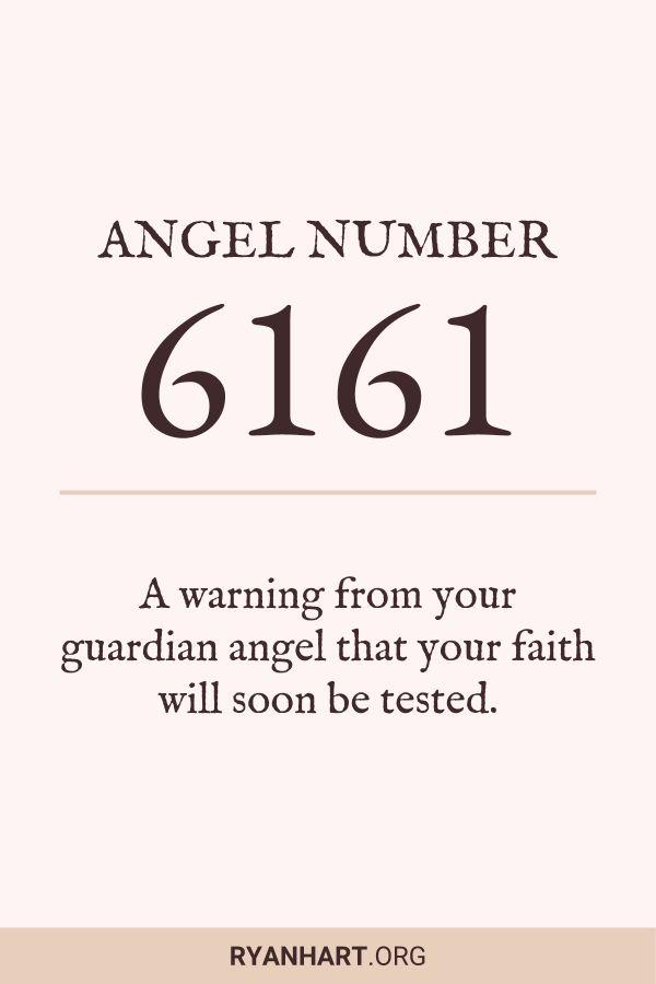 3 Powerful Meanings of Angel Number 6161 | Angel Numbers | Angel