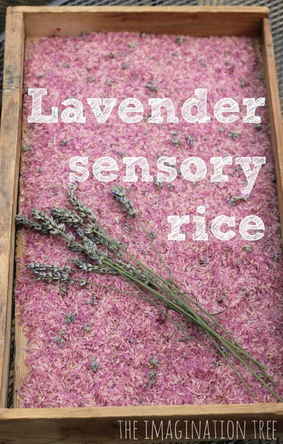 Naturally scented, calming, sensory play. @Isabelle Salas for little miss perhaps, I know how you like sensory play with her :)