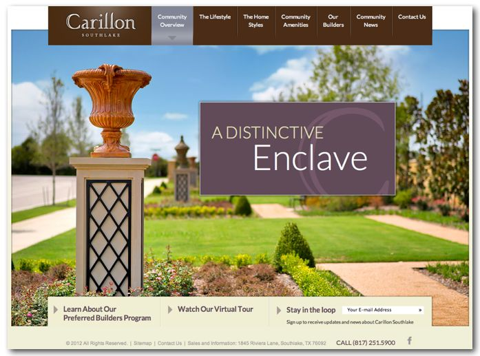 Learn about Carillon in Southlake. David Russell, Ebby Halliday REALTORS, Texas Realtor