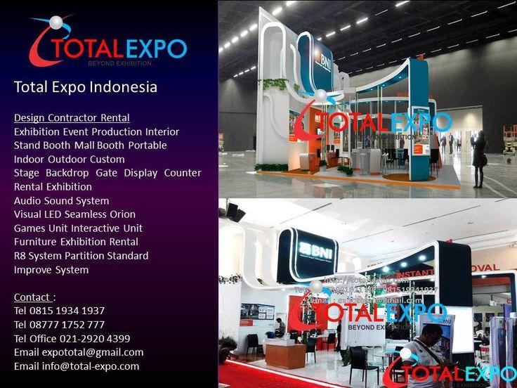 Jasa Stand Pameran Booth BNI 46 REI Property Expo