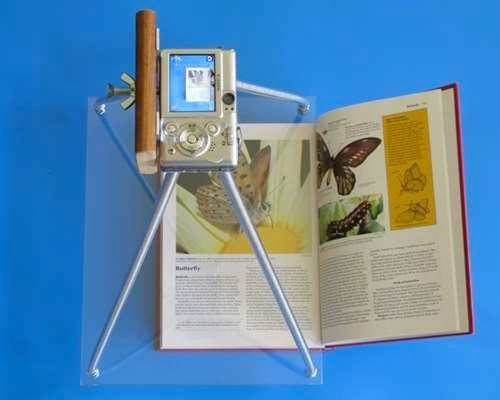DIY: Build Your Own Book Scanner For Less Than Twenty Bucks (As Long as You Have a Camera)