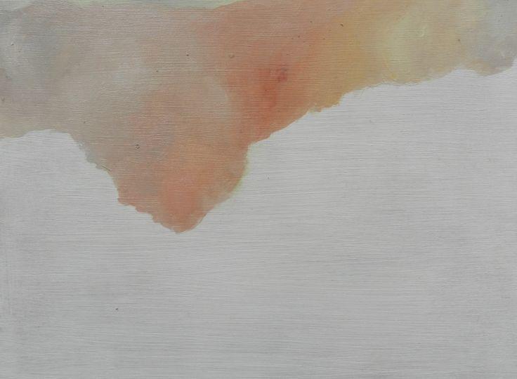 Sand Cloud , oil on board, 195 x 145 mm, 2014