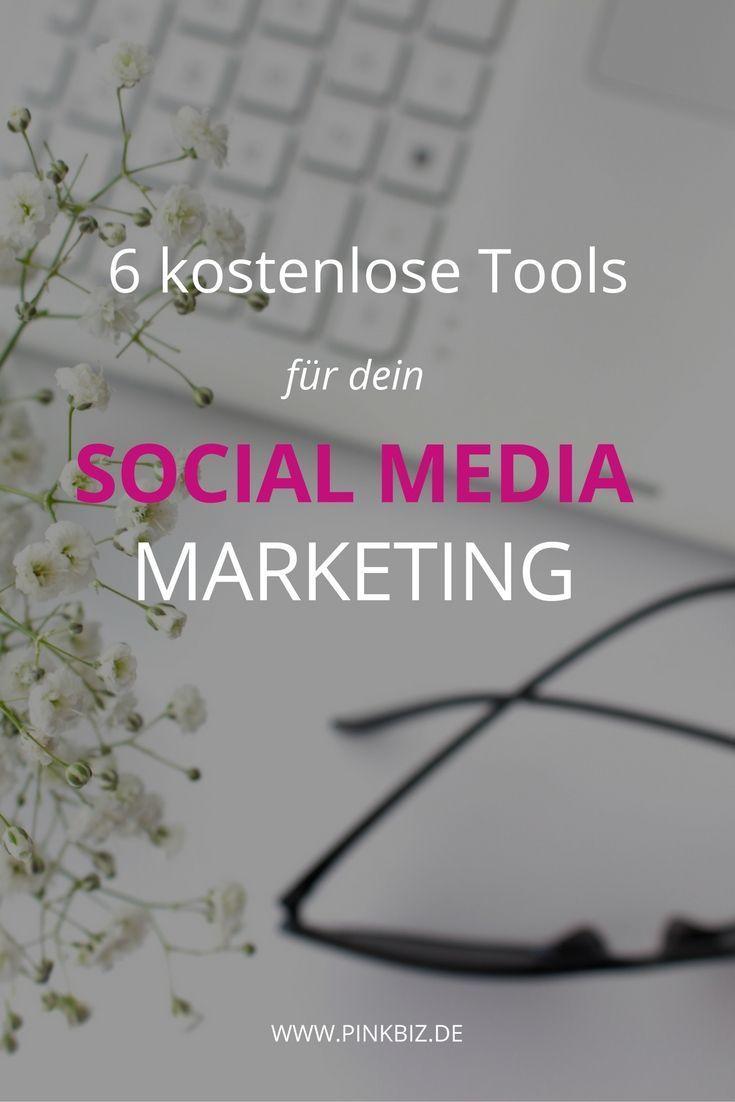 Kostenlose Tools für dein Social Media Marketing   http://www.pinkbiz.de