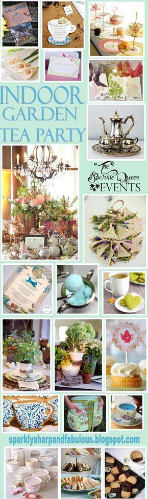 garden party inside | indoor garden tea party original post found here http ...