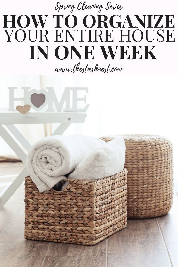 How To Declutter Your Entire House In One Week Pinterest Decluttering Super Easy And Organizations