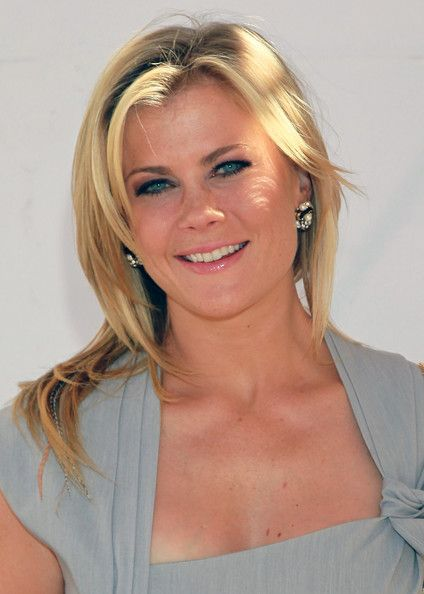 Actress Alison Sweeney attends the 16th Annual Los Angeles Times Festival of Books.