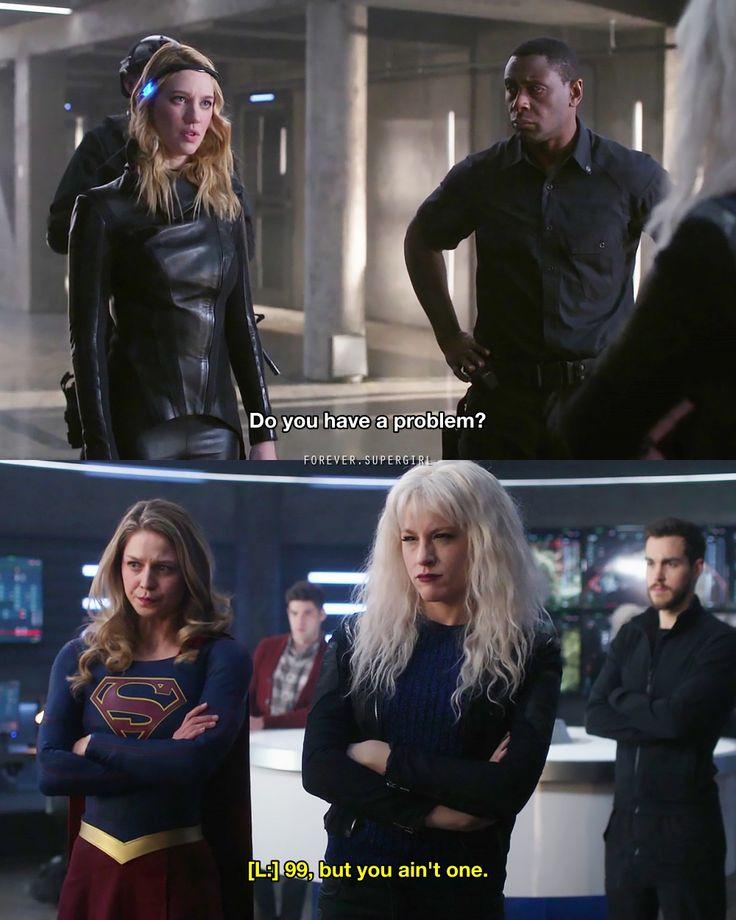 "2,153 Likes, 7 Comments - sᴜᴘᴇʀɢɪʀʟ (@forever.supergirl) on Instagram: ""{ 3x11 } Their banter was brilliant! . . #supergirl #supergirlcw #karazorel #karadanvers…"""